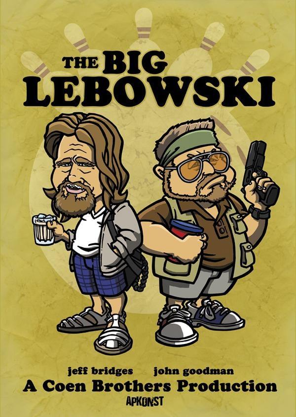 The Big Lebowski The Dude Abides