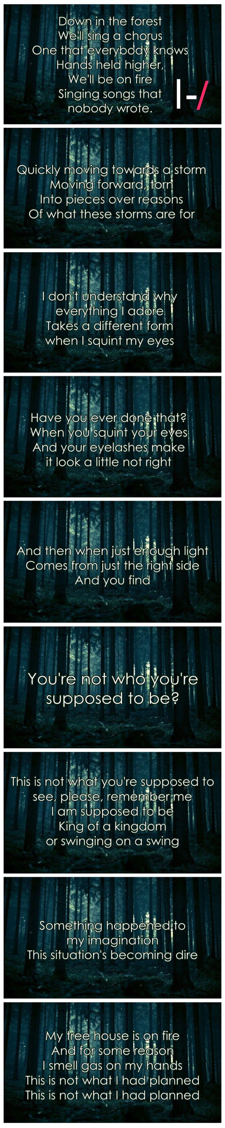 Forest |-/ Twenty One Pilots Lyrics