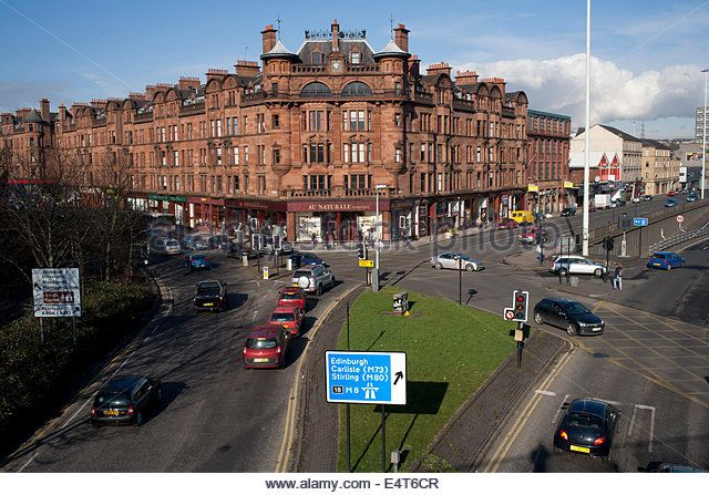 Glasgow City Centre Traffic Stock Photos & Glasgow City Centre ...