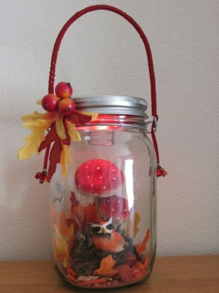 Fill a Consol Solar Jar with your favourite goodies and create fun table decor