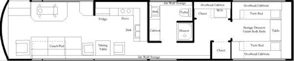 tour bus floor plans | The Bus Floor Plan