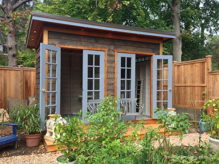 Urban Studio   Garden Shed Plans   Building Plans