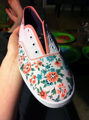 Peace, Love, Pliers//DIY Painted Shoes Love theseeeeeeeeeeeeeeee!