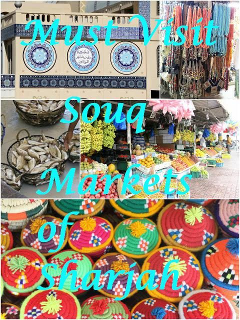 Must Visit Souq Markets of Sharjah, UAE. Shopping Malls can never offer the same delight as shopping in local markets. While in Sharjah I explored some of the local markets, some with friends on our own and some were part of activities organised.
