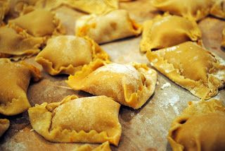 Butternut squash tortelli with brown sage butter (or Tortelli a' la ...