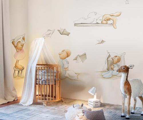 La colección de papeles pintados de Pilar Burguet para Coordonne Kids