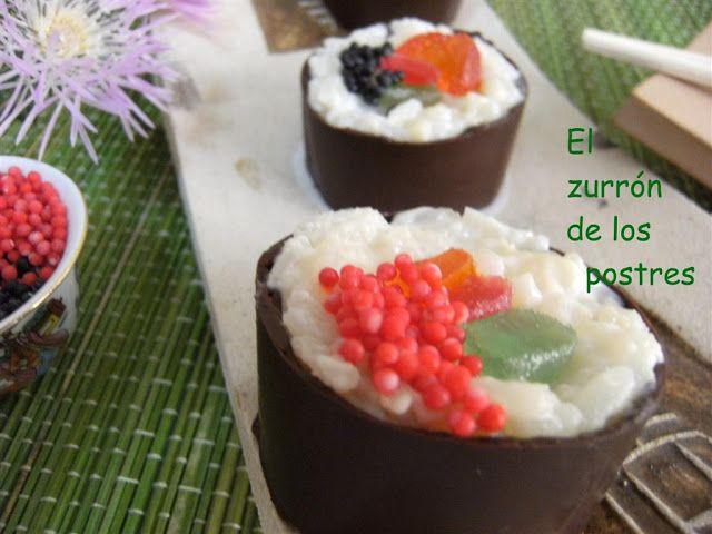 ¿¿ Sushi, Caviar ?? No lleva algas, ni pescado. Son dulces.