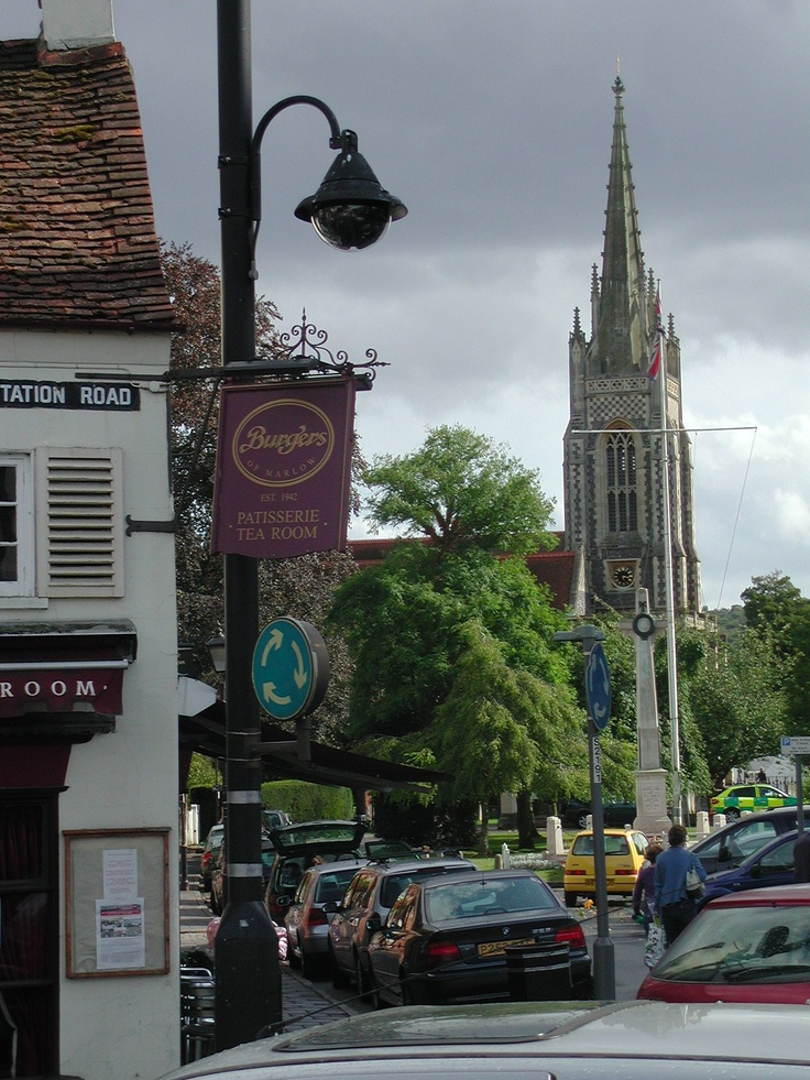 Mooching round Marlow on Thames