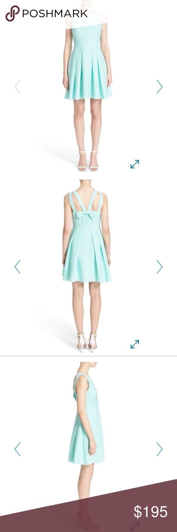 Kate Spade bow back crepe fit & flare dress NWT Kate Spade bow back crepe fit & flare dress NWT kate spade Dresses
