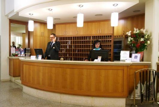 Reception Hotel Casa del Pellegrino