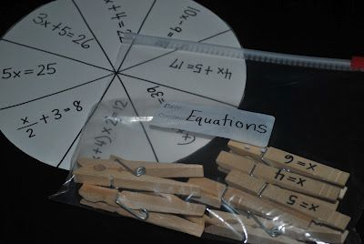 EQUATIONS GAME