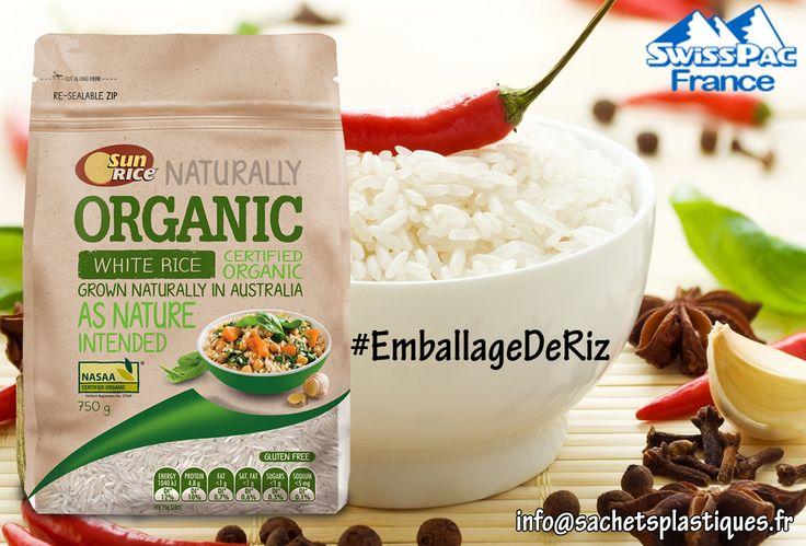 Le #riz est l'aliment nutritionnel le plus consommé à #PartoutDansLeMonde.  l'#Emballage joue un rôle important dans la commercialisation d'un produit. #BonEmballageDeRiz vous permet de gagner la confiance de vos clients et avoir un bon positionnement sur le marché.  magasiner à http://www.sachetsplastiques.fr/emballage-de-riz/