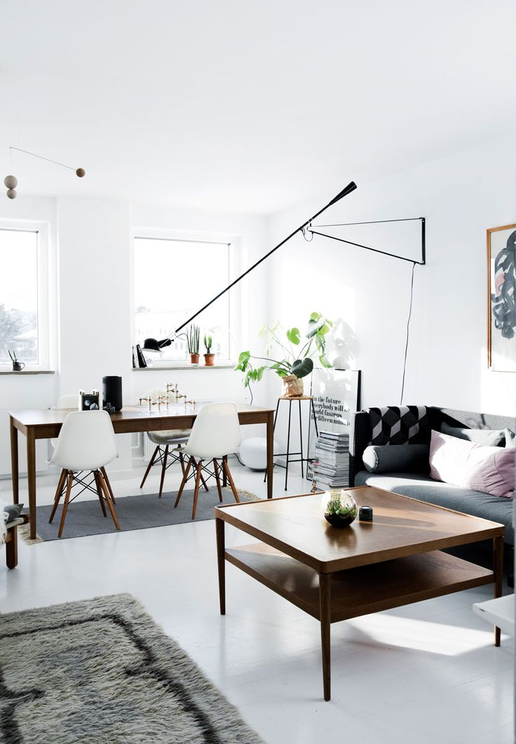 Vintage meets modern in a Danish apartment