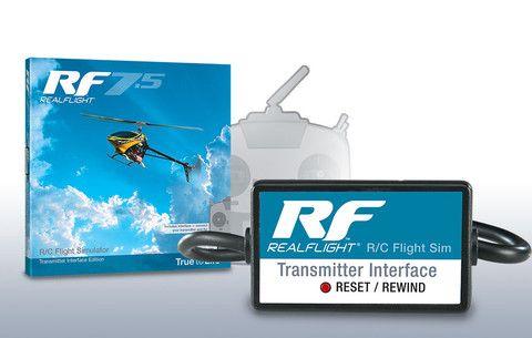 RealFlight RF7.5 R/C Flight Simulator - Transmitter Interface Edition