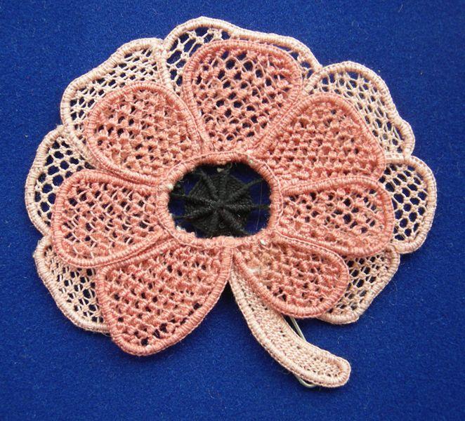 Needle lace sample