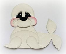 Baby hippo animal kids premade paper piecing my tear bears kira
