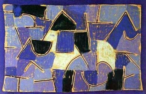 Paul Klee 'Blaue Nacht' 1937. (Source: theartstack.com)