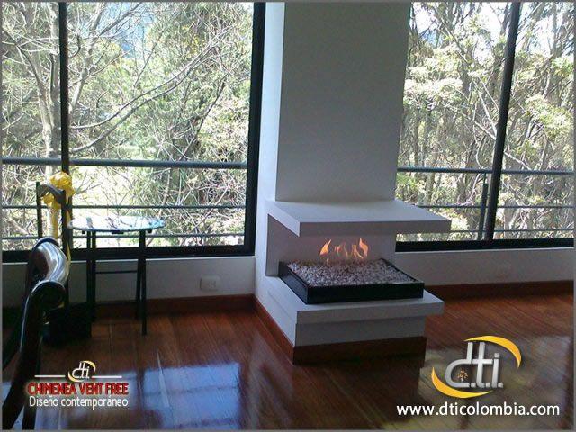 http://www.dticolombia.com/chimeneas-a-gas/chimeneas-importadas-usa Galería de Chimeneas a Gas No ventiladas o Vent Free en Bogotá, D.T.I. Colombia. Tel : (57-1) 8052257 - 8052269