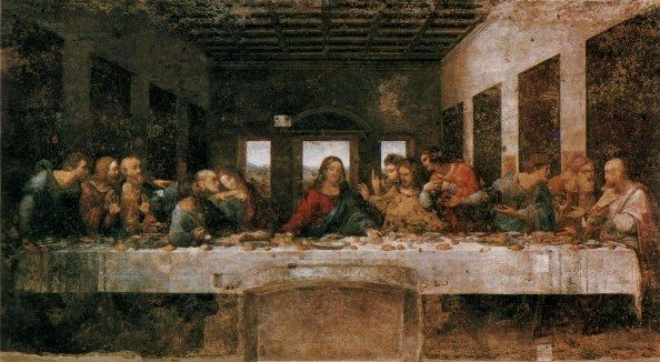 THE LAST SUPPER: famous paintings