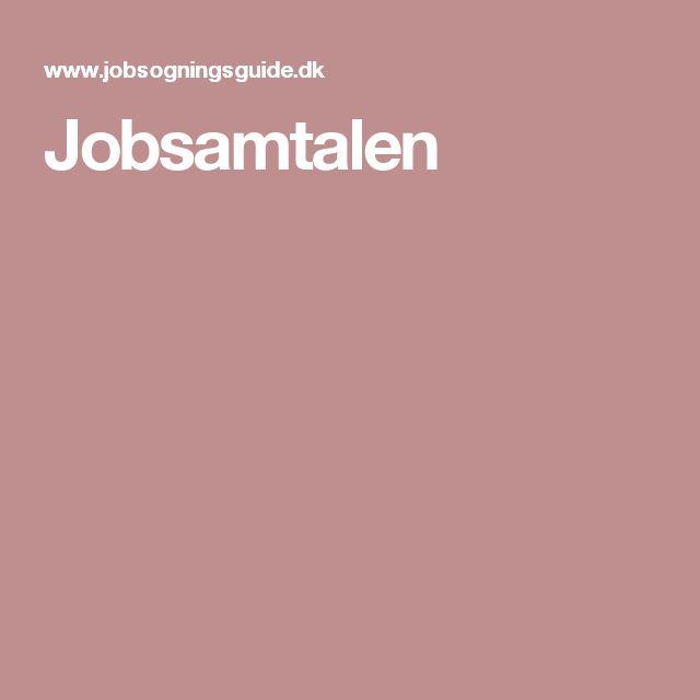 Jobsamtalen