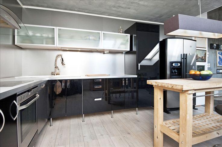 Hva med et svart kjøkken?
