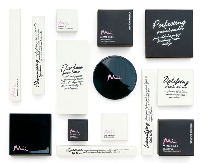 Pearlfisher has created the branding for Mii, a make-up line from Gerrard International – the first own-brand make-up line from this leading consultancy and distributor for professional beauty salons and spas.