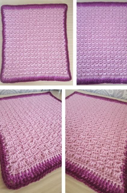 FREE Block Stitch pattern for your blanket projects and more (My step-by-step guide) (Crochet) - intheloopcrafts.blogspot.co.uk