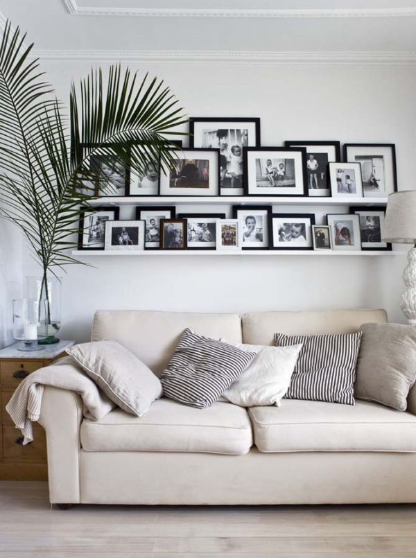 Tips And Ideas For Creating A Beautiful Wall Art Gallery | Walls, Galleries  And White Photo Frames Part 96