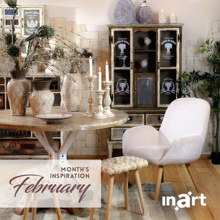 Inart's inspiration for February is… the whole wide world! Create a unique home by mixing together pieces inspired by different cultures. Explore the look by #inart here http://bit.ly/inart_MonthsInspiration_Feb2018 #inspiration
