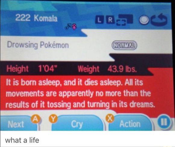 Are you okay, dear Pokémon and Pokédex- Entry People?