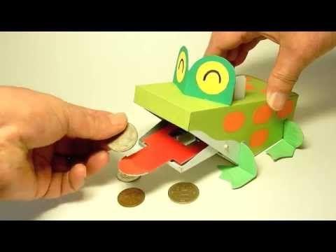 パックン貯金箱 the Froggy bank