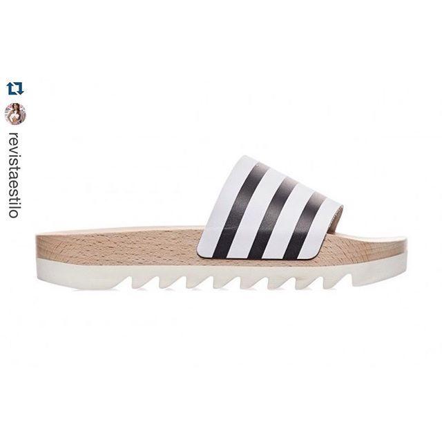 #mulpix Impulsionada pelo sucesso da adilette original, a @adidas acabou de lançar o modelo em madeira. ️️️️ Os chinelos slide são febre entre as fashionistas e a marca não perdeu tempo! Sucesso. #clubeindica #estilo #estilodevida #adidas #fashion