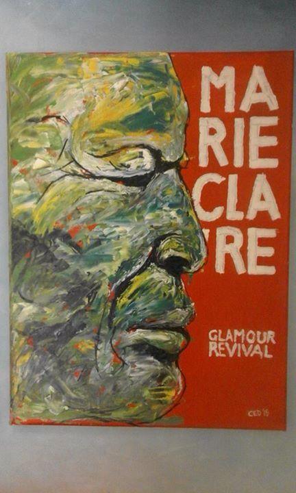 ART AUCTION!!!! RESERVE PRICE: R 2800 ARTIST: Cedrick Kwata MEDUIM: Acrylic SIZE: 24 x 60 cm