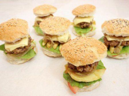 Мини бургеры