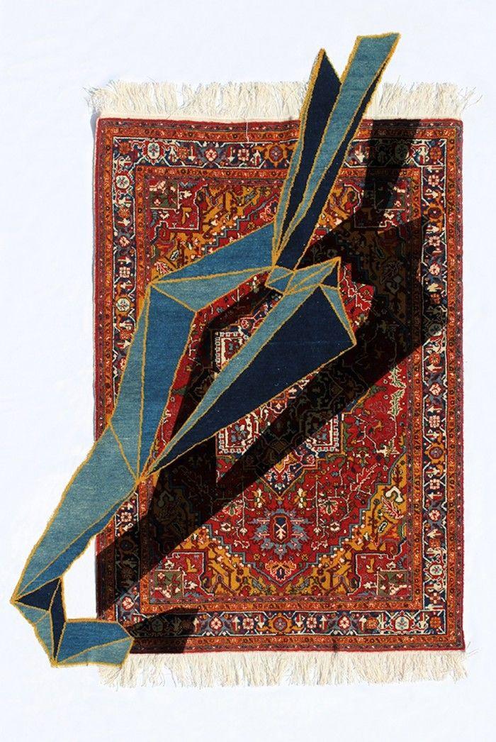 Boteh, Handmade Woolen Carpet, 2014.