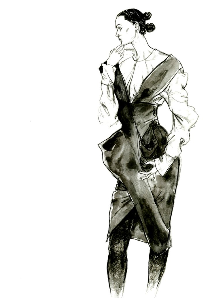 sketch by john galliano favourite illustrations