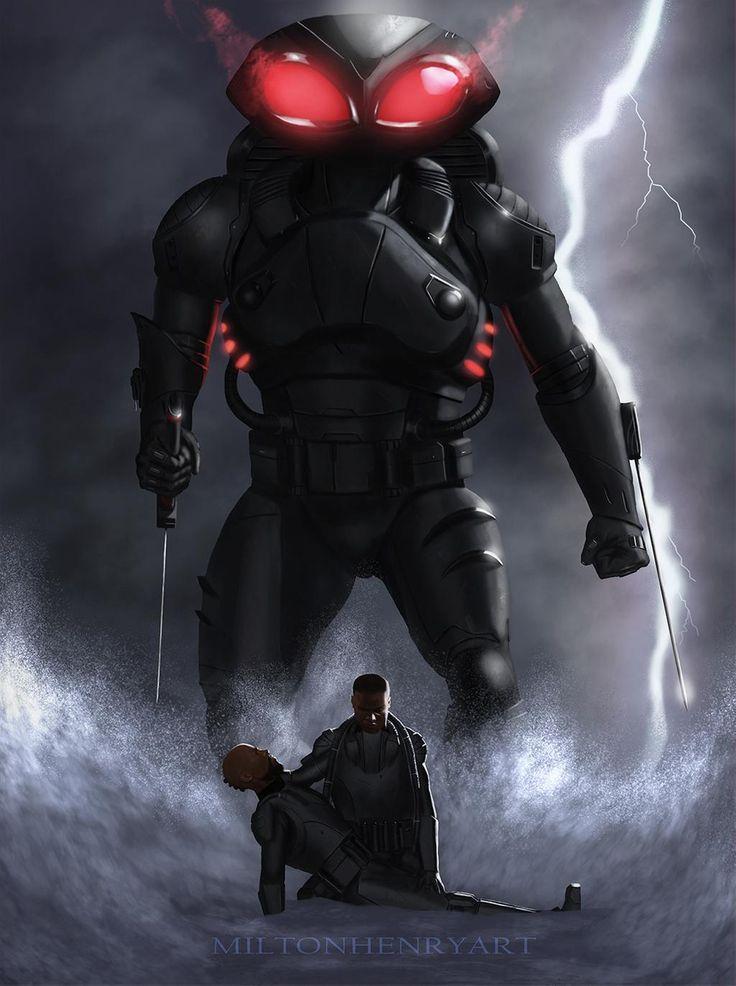 Black Manta1 By Salopla Black Manta Aquaman Dc Comics Wallpaper