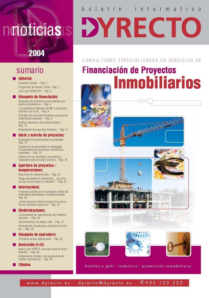 Financiación proyectos 2004