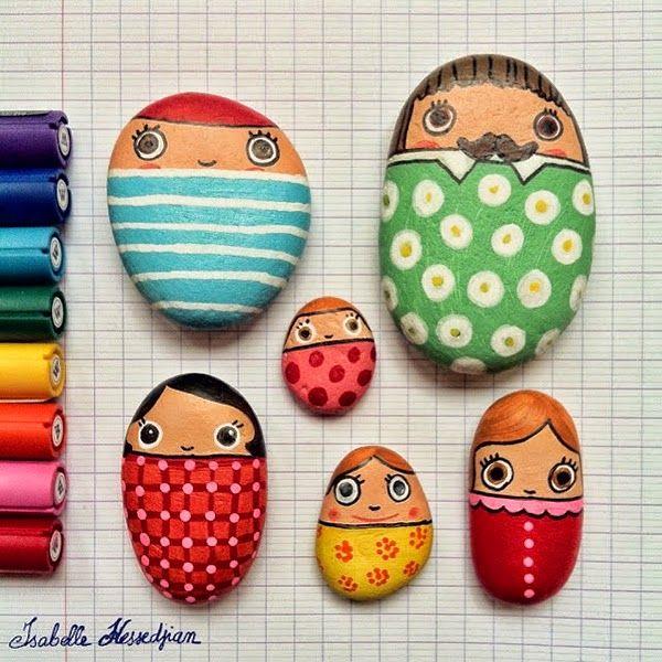Las 25 mejores ideas sobre piedras de jard n pintadas en for Piedras pequenas para decorar