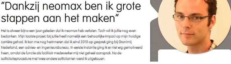 Wiljan heeft grote stappen gemaakt. Lees zijn verhaal over 3xBLIJ bij neomax; http://neomax.nl/3xblij/dankzij-neomax-ben-ik-grote-stappen-aan-het-maken/
