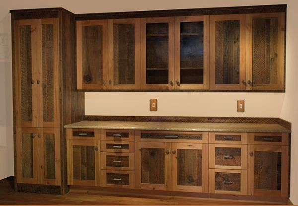 barn+wood+kitchen+cabinets   Summer Image Blogs: Custom barn wood cabinet with