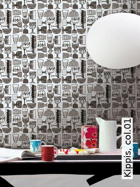 Die besten 25+ Schwarze tapete Ideen auf Pinterest schwarzer - tapeten für die küche