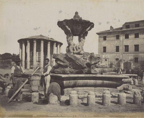 Rome, Temple of Vesta 1865-1870