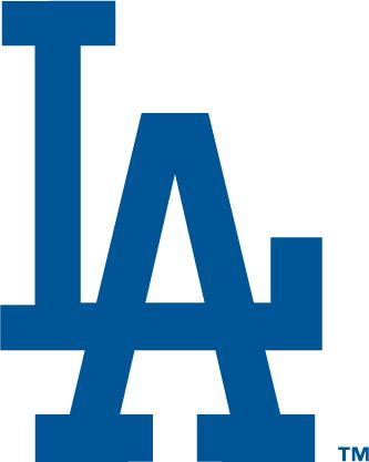 Los Angeles Dodgers Logo - Interlocking LA in blue (SportsLogos.Net)