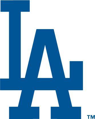 Los Angeles Dodgers Logo - Interlocking LA in blue (SportsLogos.Net)