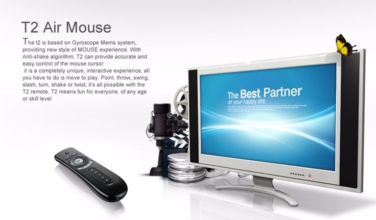 Brand New Mini remote control T2 2.4G Remote Controller Sensing Air Mouse for TV Box X96 T95N Q Box Laptop Tablet PC   Read more at Electronic Pro Market : http://www.etproma.com/products/brand-new-mini-remote-control-t2-2-4g-remote-controller-sensing-air-mouse-for-tv-box-x96-t95n-q-box-laptop-tablet-pc/  Brand New Mini remote control T2 2.4G Remote Controller Sensing Air Mouse for TV Box X96 T95N Q Box Laptop Tablet PC          – Based on Gyroscope MEMS system.