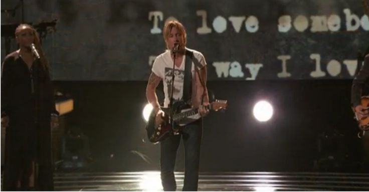 Keith Urban just crushed this tribute to The Bee Gees. Memories brought tears to my eyes.