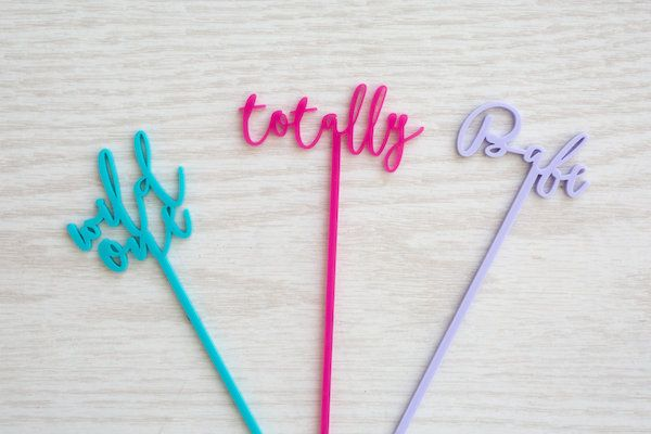Stir Sticks: The Roc Shop | Photography: Shay & Olive | Styling + Florals: Celebrate Colorfully | Venue: The Coterie