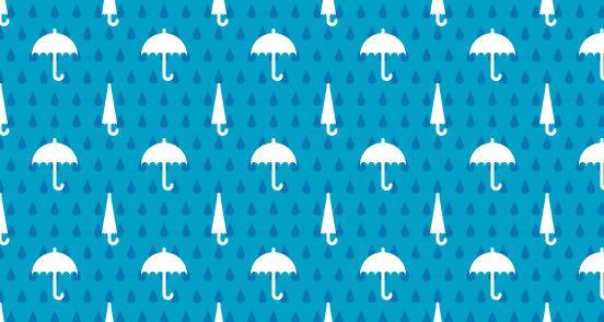 blue umbrella pattern: Blue Umbrella, Umbrellas Patterns