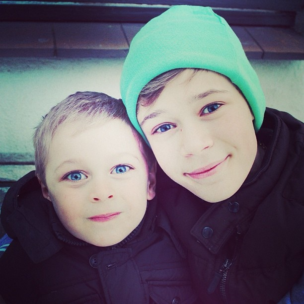 Love u❤ - so cute with his little brother together